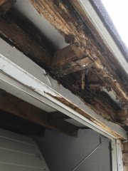 Before, rotten facias & soffits